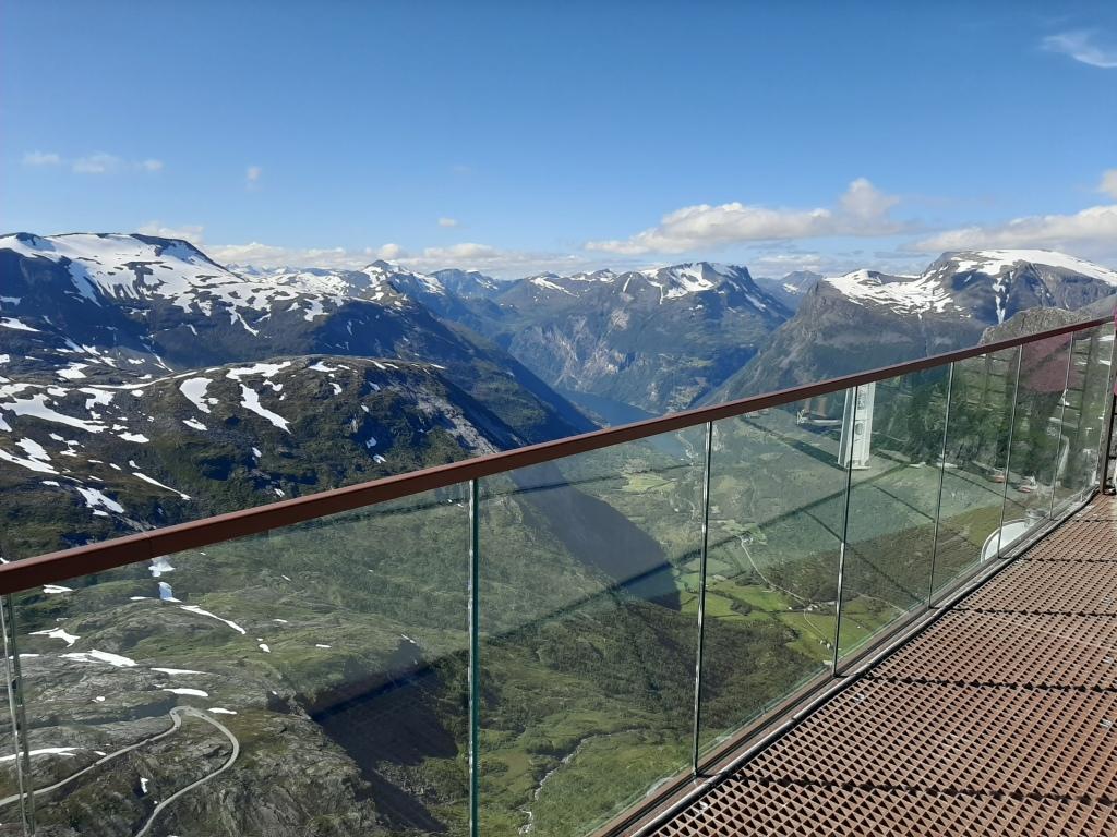 Utsikt fra Geiranger Skywalk